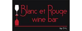 Blanc et Rouge logo